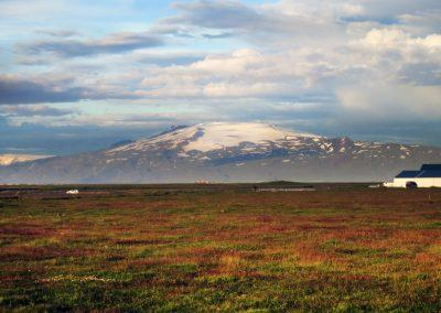 Eyjafjallajökull ved sydkysten - foto: Lars Viberg - ISLANDSREJSER