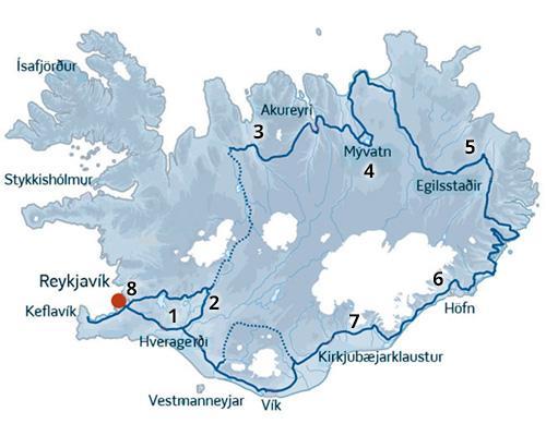 Oplev højlandet i Island i en perfekt blanding af højland og lavland. En rejse til Island med ISLANDSREJSER - kør-selv ferie eksperterne.