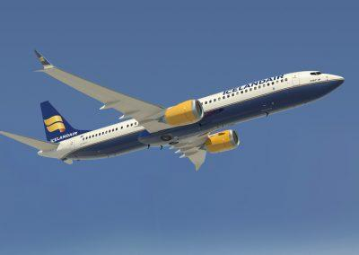 Farvel til Island med Icelandair efter en oplevelsesrig tur.