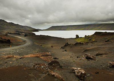 Kleifervatn på Reykjanes-halvøen