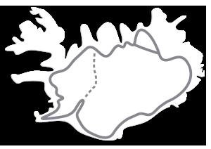 Kør-selv ferie i Island - rundrejse