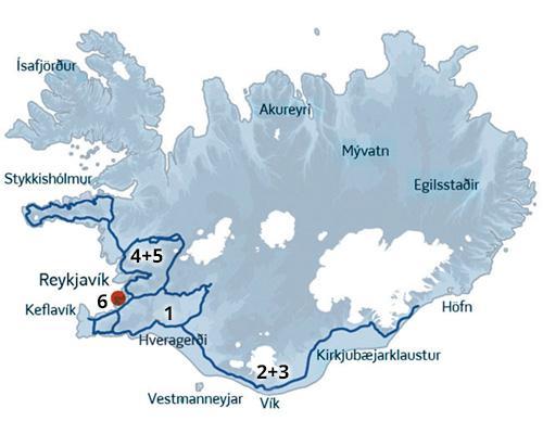 En skøn kør-selv rejse til Island med masser af naturoplevelser