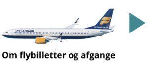 Icelandair - flybilletter ferie og rejser med ISLANDSREJSER