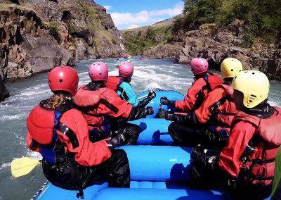 River rafting Island med ISLANDSREJSER.