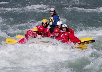 River rafting i Island