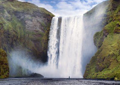 Skogafoss - det ikoniske vandfald på sydkysten