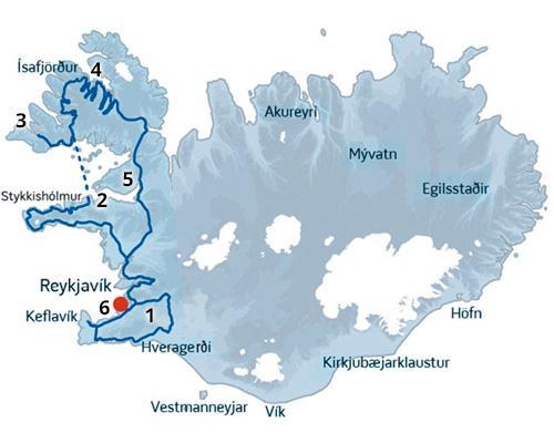 En dejlig kør-selv-pakkerejse med bl.a. Vestfjordene der en er sand naturperle.