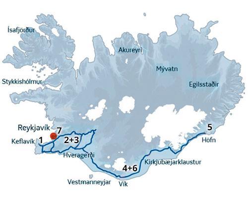Bil-ferie i Island med masser af ro på. ISLANDSREJSER - rejser til Island.