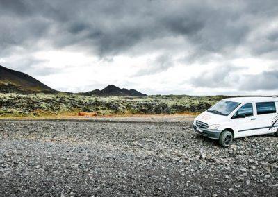 AutoCamper Van i Island