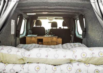 Auto Camper Van i Island - gode sovepladser