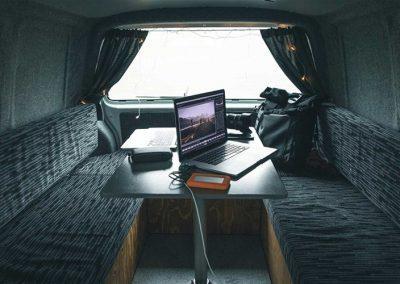 Auto Camper Van i Island - praktisk indretning