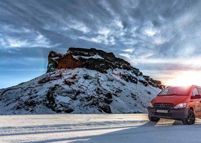 Auto Camper Van i Island - også om vinteren
