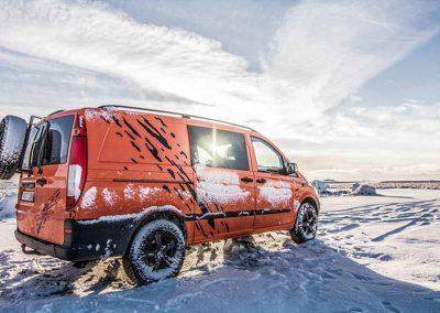 Auto Camper Van i Island - hele året rundt
