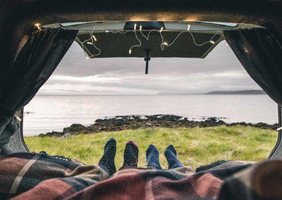 Auto Camper Van i Island - nyd friheden