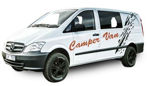 4WD Camper Van Island