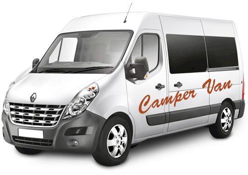 Familieferie i Island med total frihed og til fornuftig pris! AutoCamper Van - Camp Large.