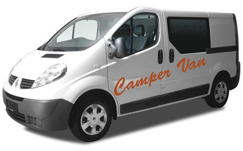 Camp Medium AutoCamper van i Island