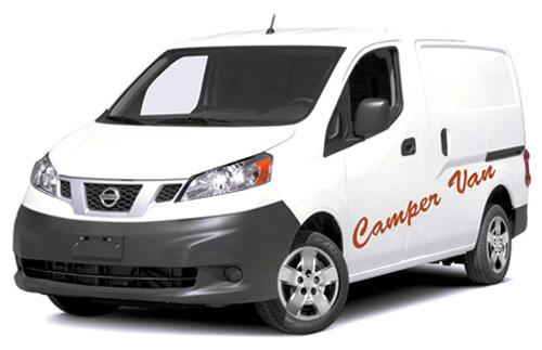 Autocamper i Island til fornuftig pris. Prøv en Auto Camper Van - Camp Small.