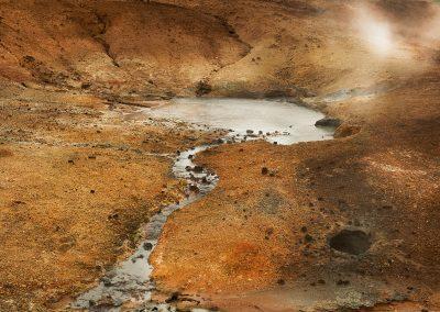 Fra Krýsuvik geotermiske område