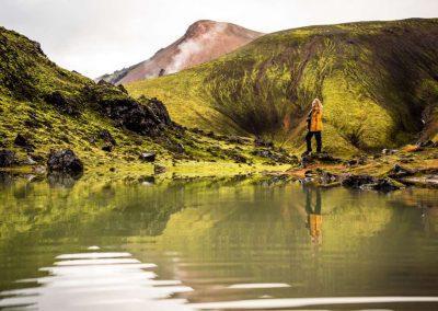 Landmannalaugar Hike i Island