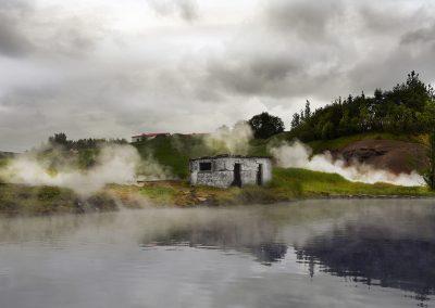 Secret Lagoon - dejligt geotermisk bad ved Fludir