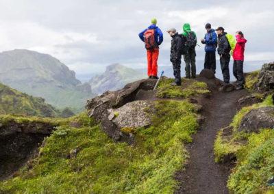 Aktiviteter og dagture i Island - Hiking - Thorsmörk vulkan-hike