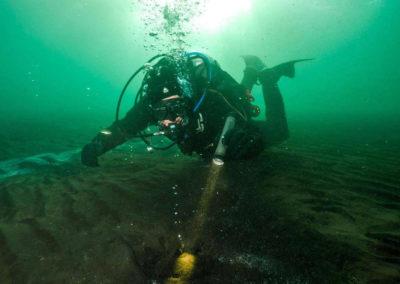 Geotermisk dykning i Island - Klaifervatn - på kør-selv ferie og bilferie med ISLANDSREJSER