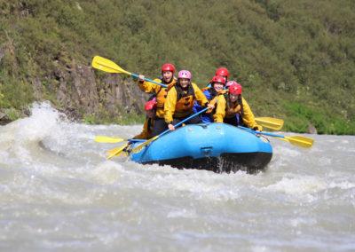 River Rafting - Gyldne Cirkel, Island på kør-selv ferie og bilferie med ISLANDSREJSER