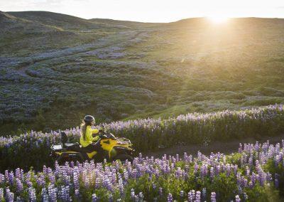ATV-action ikke langt fra Reykjavik på kør-selv ferie og bilferie med ISLANDSREJSER