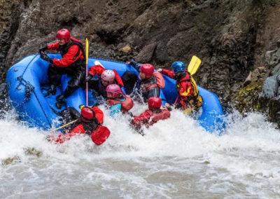 River Rafting i Island - Beast of The East - på kør-selv ferie og bilferie med ISLANDSREJSER