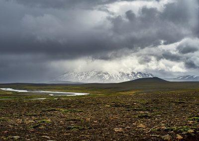 Gennem højlandet ad Kjölur højlandsvej