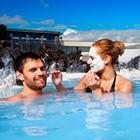 Hvis det passer med jeres fly, kan i planlægge et besøg i Blue Lagoon luksus spa, kun 20. fra lufthavnen.