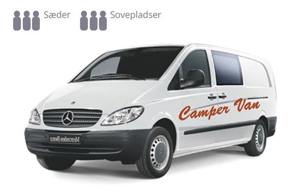 Autocamper Van - Camp comfort (automatgear)