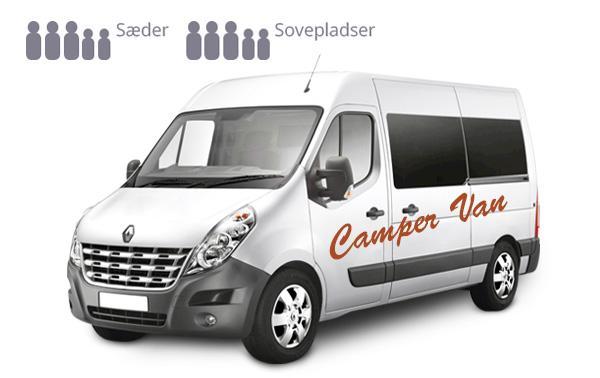 Auto Camper Van - Camp Large