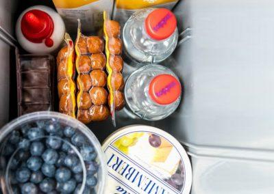 Auto Camper Van i Island - køleskabet