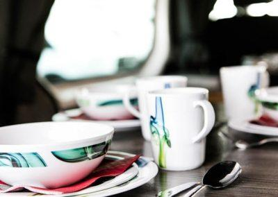 Auto Camper Van i Island - køkkenindretning