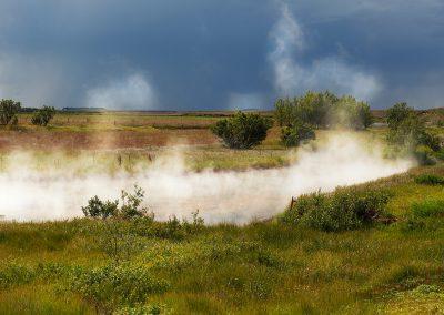 Geotermisk aktivitet ved Deildatunguhver