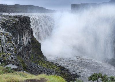 Dettifoss vandfaldet er et imponerende syn