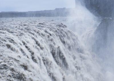 Det mægtige Dettifoss vandfald