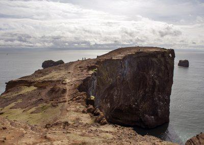 Fascinerende klippe - Dyrholaey ved sydkysten