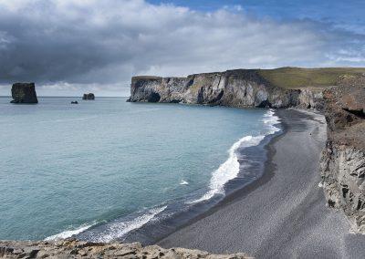 De sorte strande ved Dyrholaey