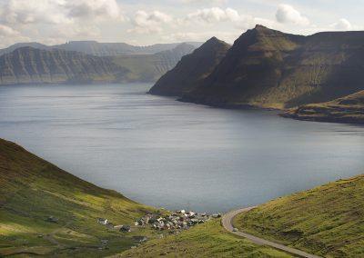 Storslået udsigt på Færøerne. Rejser og ferie til Færøerne med Færøernerejser - en del af Islandsrejser.