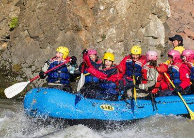 River rafting - familievenlig