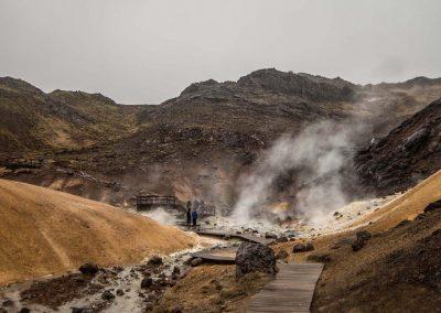 Geotermisk snorkling i Island - Klaifervatn - på kør-selv ferie og bilferie med ISLANDSREJSER