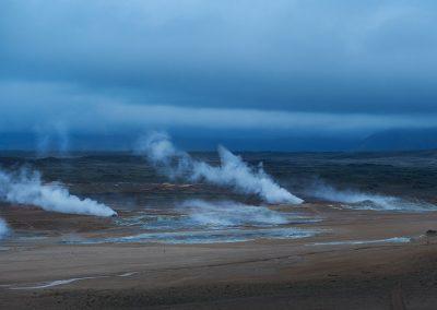 Masser af geotermisk aktivitet ved Mývatn området :: foto: Lars Viberg - ISLANDSREJSER