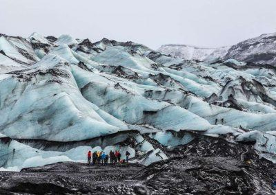 Hiking i Island, Gletsjerhiking og isklatring -Solheimajökull