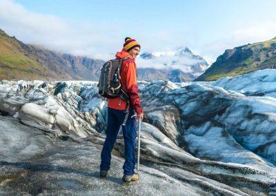 Hiking i Island, Gletsjervandring - Skaftafell