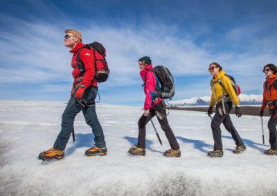 Aktiviteter og dagture i Island - Gletsjervandring og hiking Skaftafell
