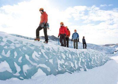 Hiking i Island, Gletsjervandring - solheimajökull