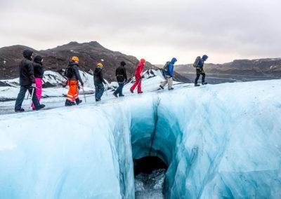 Aktiviteter og dagture i Island - Gletsjervandring og hiking på Solheimajökull